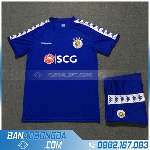 Áo Đấu Bóng Đá Hà Nội FC Training 5 Màu Xanh Dương
