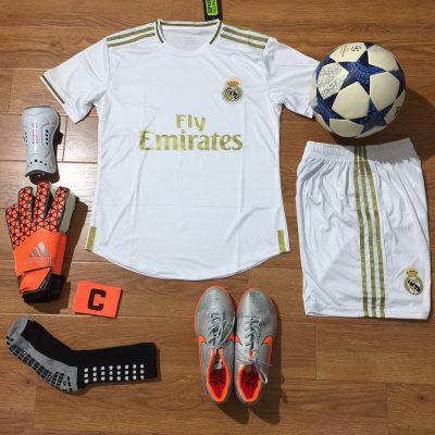 Áo Real Madrid 2020 sân nhà