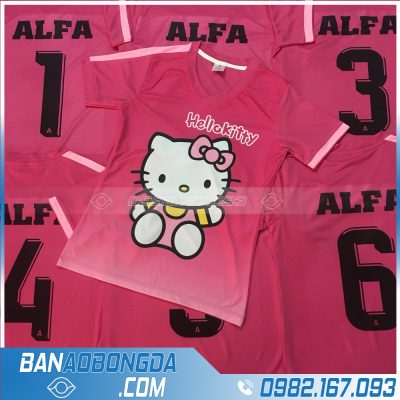 Áo bóng đá Hello Kitty