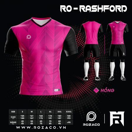 Áo bóng đá không logo 2021 màu hồng