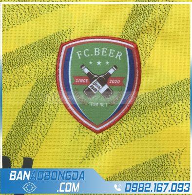 Logo áo bóng đá thêu đẹp mắt
