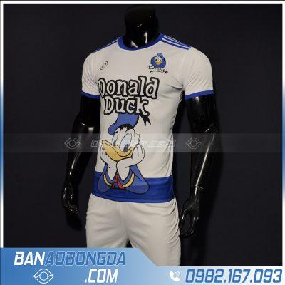 áo bóng đá dễ thương vịt donald màu trắng