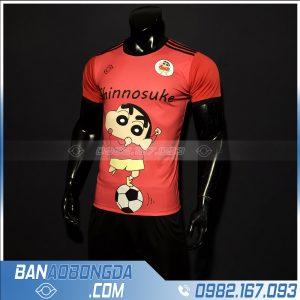 áo bóng đá shinnosuke màu đỏ đẹp nhất