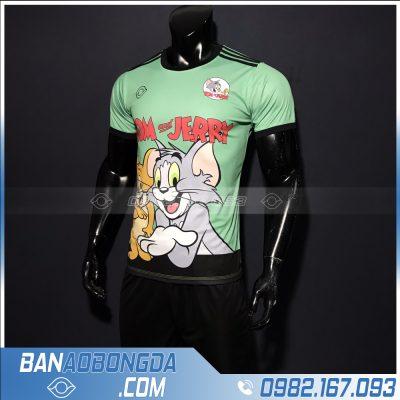 quần áo bóng đá tom jerry dễ thương