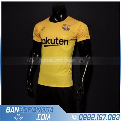 áo Barcelona màu vàng đẹp nhất