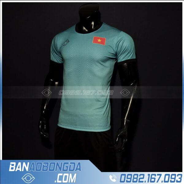 áo Việt Nam 2021 màu xanh dương