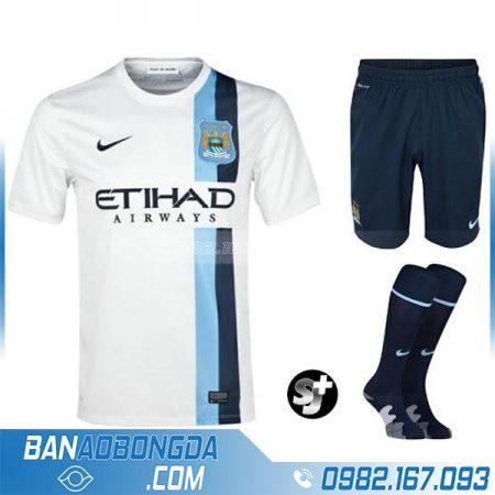 Bộ quần áo bóng đá classic retro man city đẹp