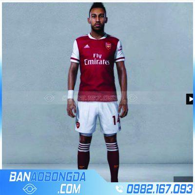 Mẫu áo Arsenal sân nhà 2021 training