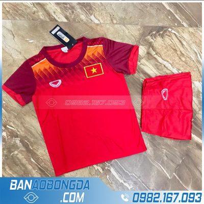 Quần áo bóng đá Việt Nam size trẻ em