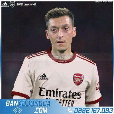 Áo đấu Arsenal 2021 sân khách training