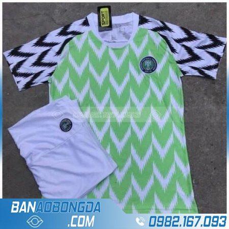 Áo bóng đá đội tuyển Nigeria 2018