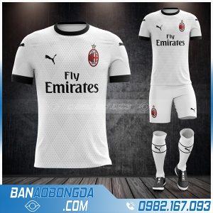 Áo Ac Milan 2021 sân khách chính thức