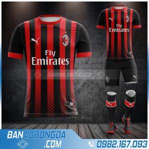 Áo Ac Milan 2021 sân nhà rò rỉ