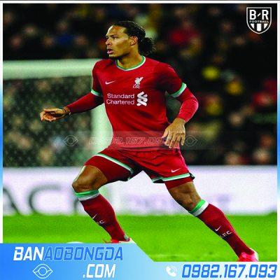 áo bóng đá liverpool 2021 màu đỏ