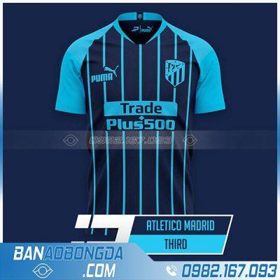 Áo Atletico 2021 training màu xanh than