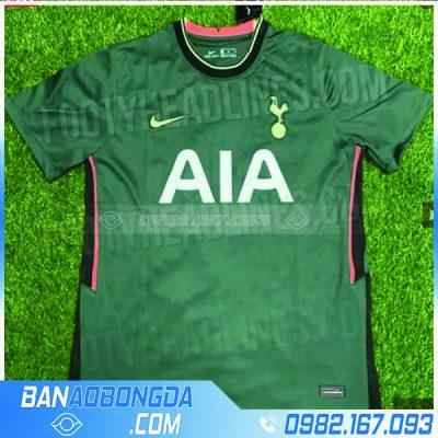 Quần áo bóng đá Tottenham 2021 training màu xanh rêu