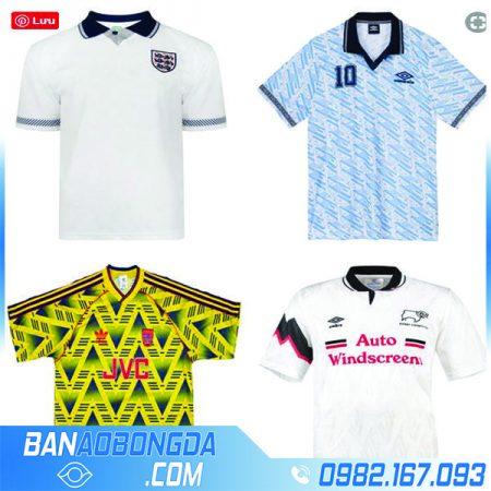 Quần áo bóng đá đội tuyển classic retro