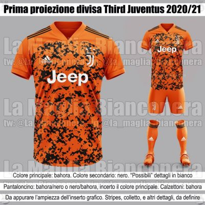 áo Juventus 2021 màu cam training