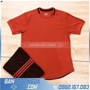 áo MU đỏ không logo