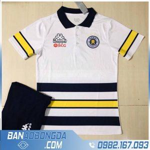 áo di chuyển clb Hà Nội FC màu trắng