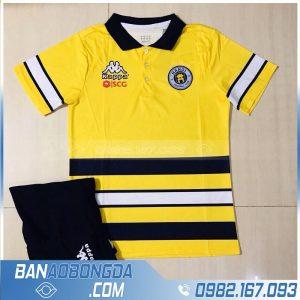 áo di chuyển câu lạc bộ Hà Nội màu vàng