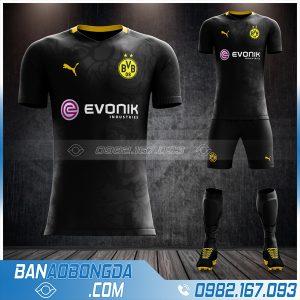 áo Dortmund 2021 sân khách đẹp