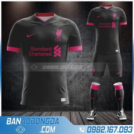 áo Liverpool 2021 sân khách