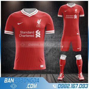 áo Liverpool 2021 sân nhà