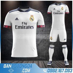 áo real madrid 2021 sân nhà