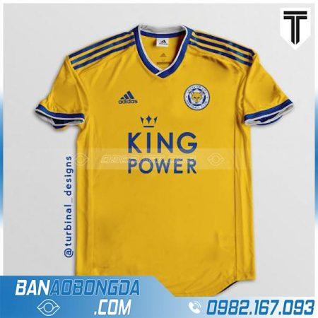 áo bóng đá leicester City tự thiết kế HZ 202