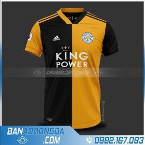áo bóng đá Leicester City HZ 209 chế màu vàng đen