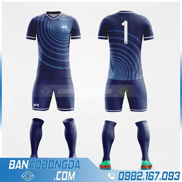 áo bóng đá không logo tự chế HZ 220 màu tím tha