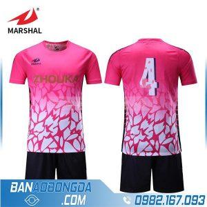 áo bóng đá tự chế màu hồng hz237 đẹp nhất 2020