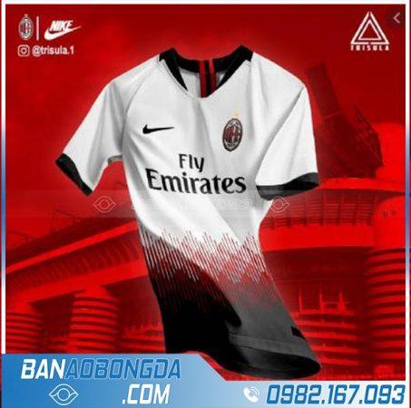 áo bóng đá AC Milan chế theo yêu cầu HZ 238 mới