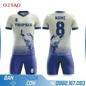 áo bóng đá chế màu xám HZ 243 đẹp