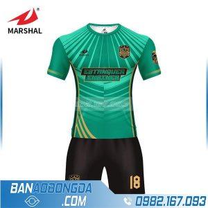 áo bóng đá tự chế màu xanh lá cực đẹp HZ 247