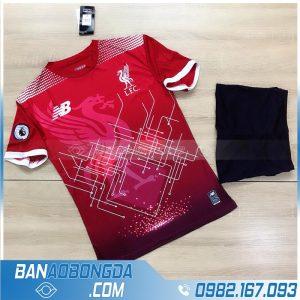 Áo bóng đá Liverpool 2021 tự chế màu đỏ đẹp