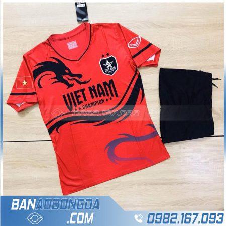 Áo đội tuyển Việt Nam rồng màu đỏ đẹp mắt