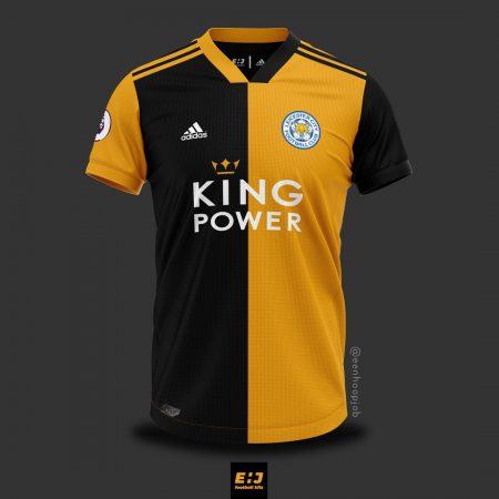áo bóng đá câu lạc bộ Leicester city chế