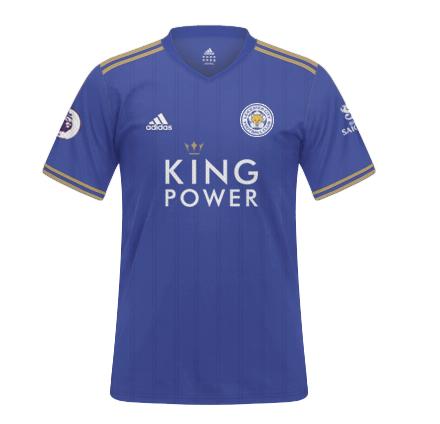 áo Leicester City 2021 sân nhà