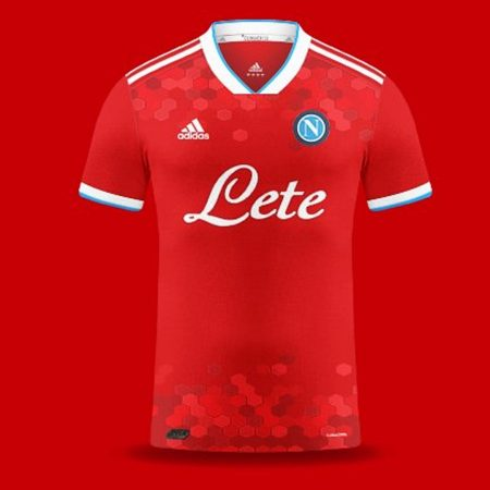 áo bóng đá Napoli 2021 training đẹp
