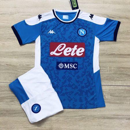 áo tập Napoli màu xanh dương