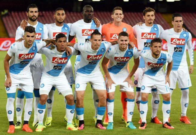 Áo thi đấu sân khách đẹp của Napoli