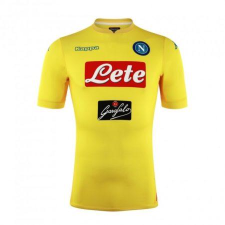 áo Napoli sân khách màu vàng