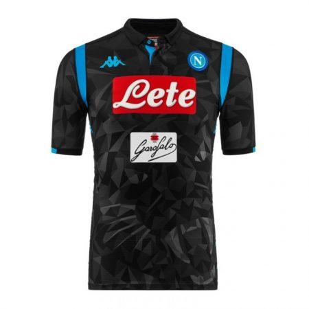 Mẫu áo Napoli sân khách 2018 2019 đẹp