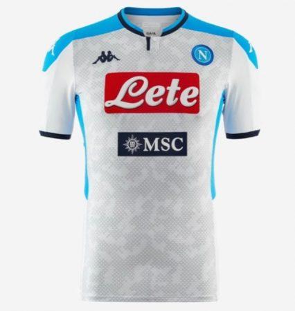 áo Napoli sân khách mẫu thứ 3