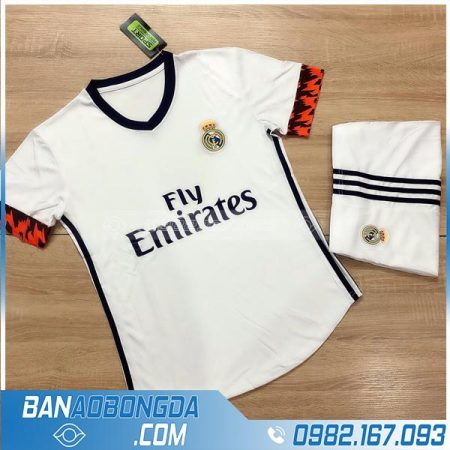 áo Real Madrid đẹp cho bé