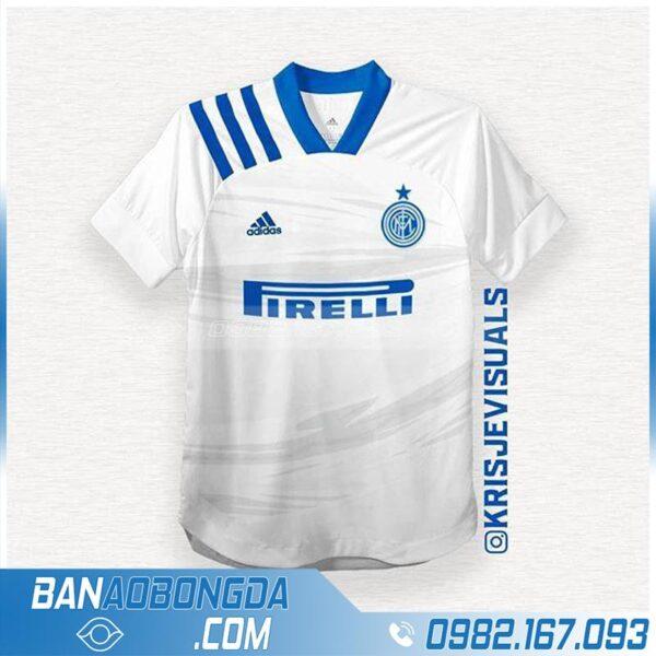 áo bóng đá Inter Milan tự chế