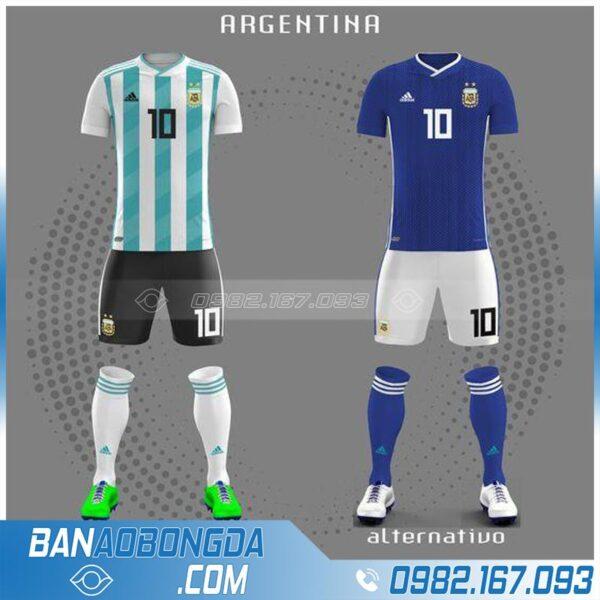 áo đội tuyển Argentina chế đẹp
