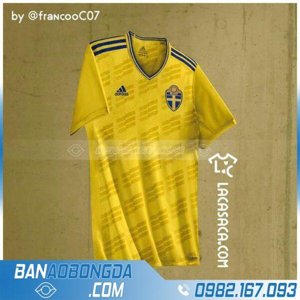 áo đội tuyển Thụy Điển tự chế